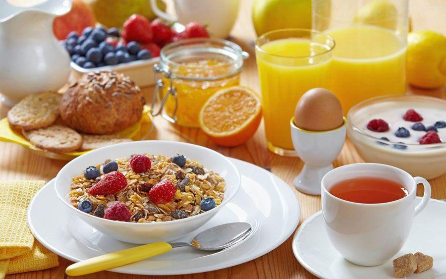 desayuno de cereales