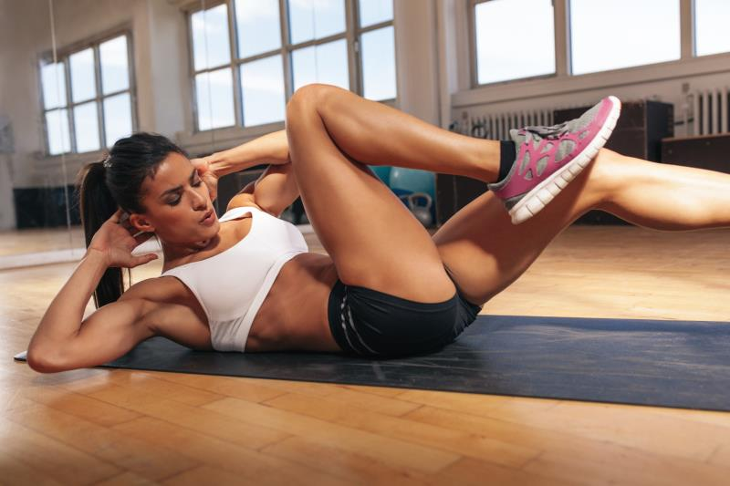 abdominales laterales