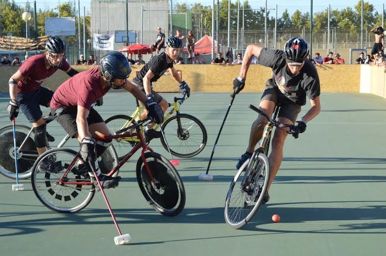 Bikepolo modalidad de deporte