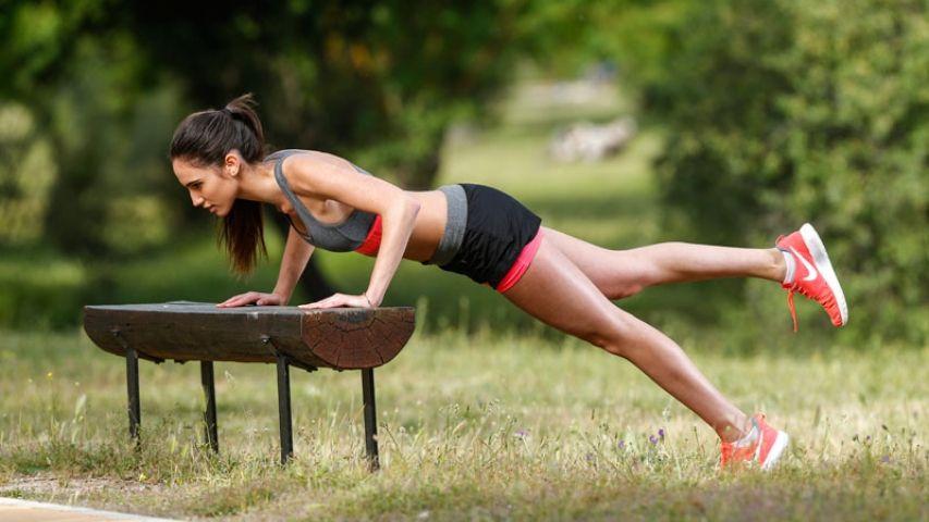 Varias actividades que te ayudaran a ponerte en forma