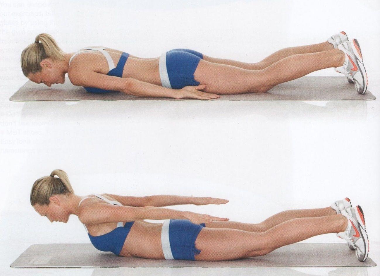 Rutina para eliminar los rollitos de la espalda