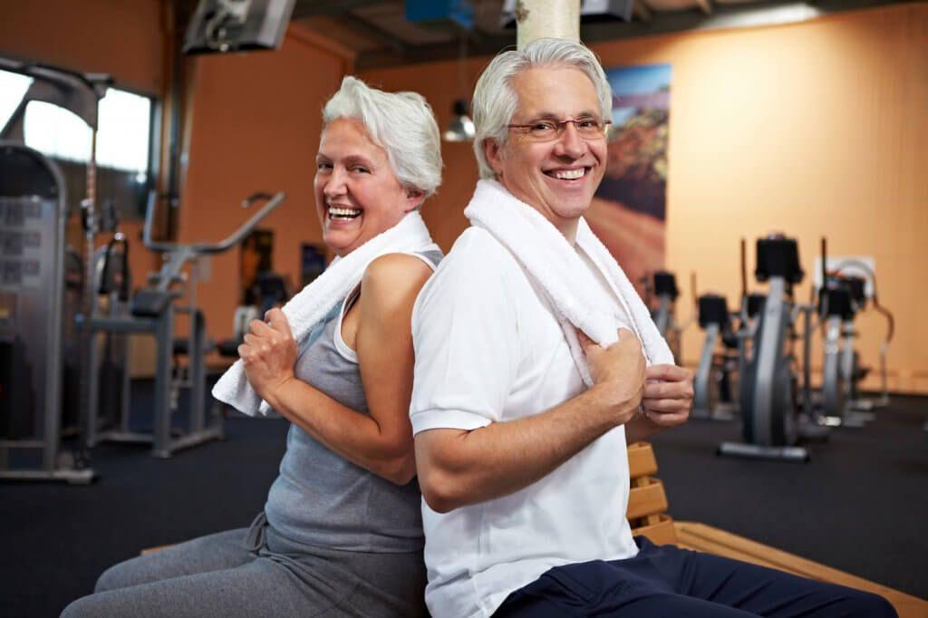 Estar saludable y en condiciones física no tiene edad.