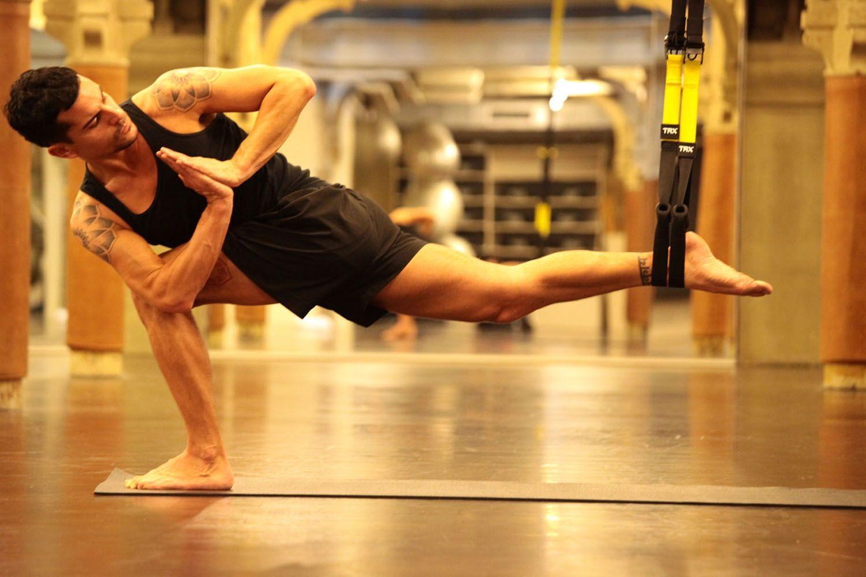 TROGA fusión de TRX y Yoga