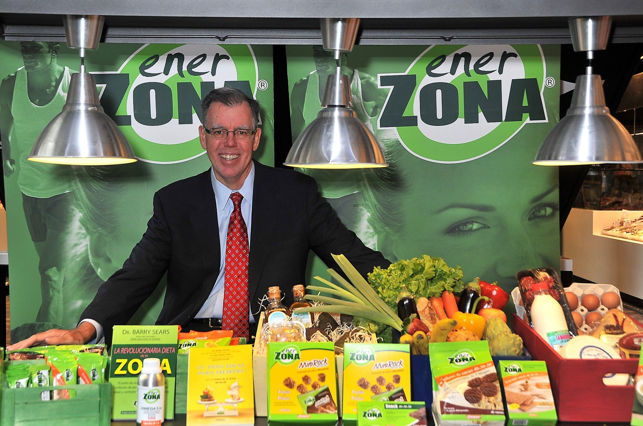 Dr. Barry Sears Creador de la The Zone diet - La dieta la Zona