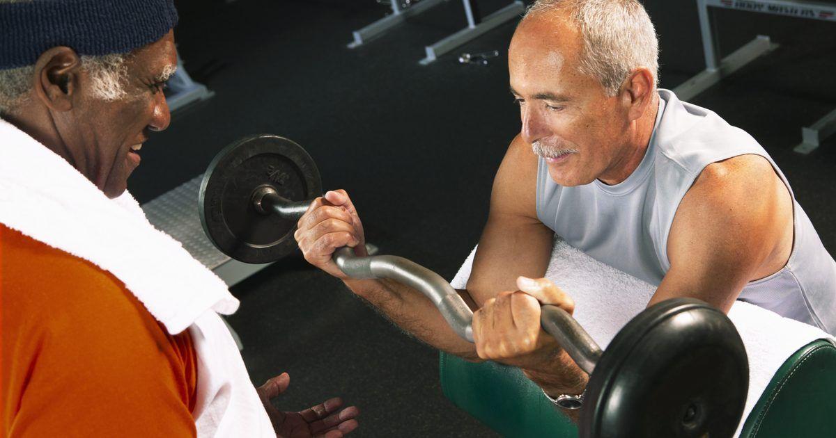 Ganar masa muscular después de los 50