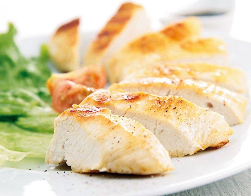 Pollo sin piel