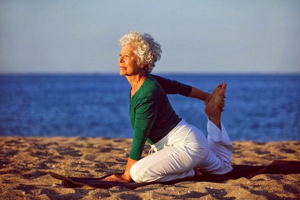 Yoga después de los 60 años