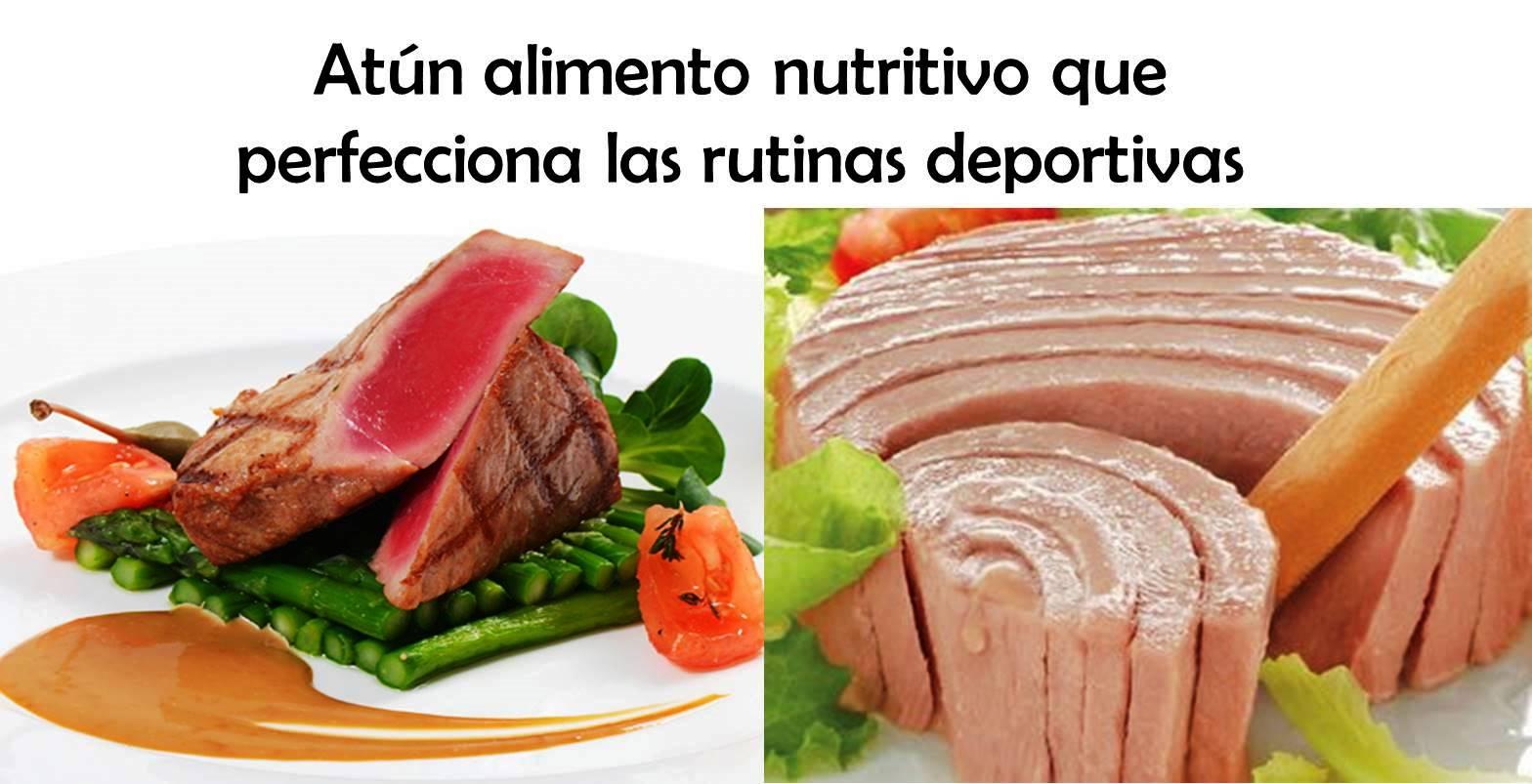 Atún alimento nutritivo que perfecciona las rutinas deportivas1