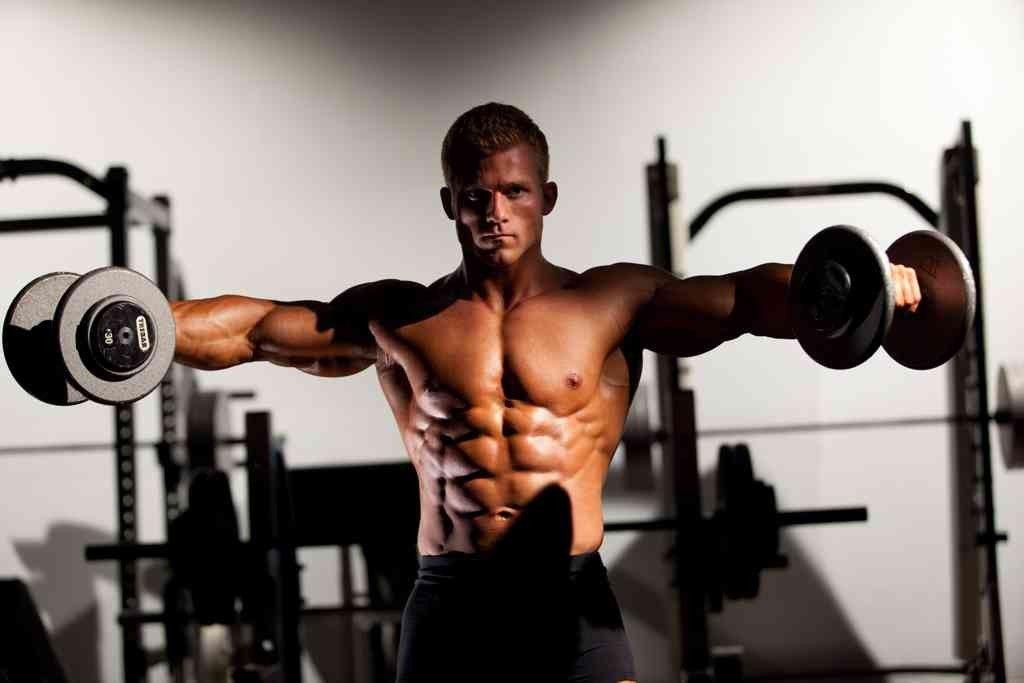 Hombros masa muscular