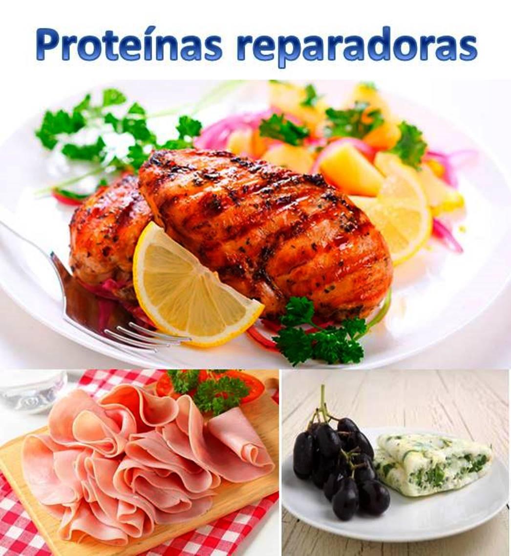 Pechuga, jamón de pavo y clara de huevo proteínas reparadoras1