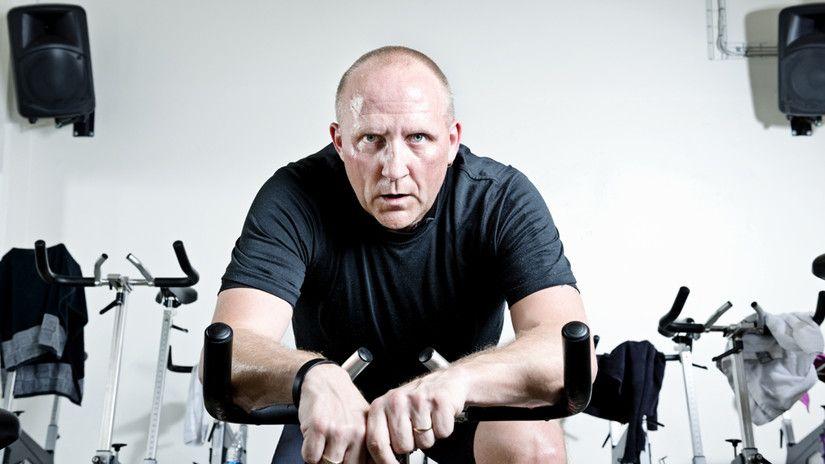 Estar en forma en el Gym a los 40