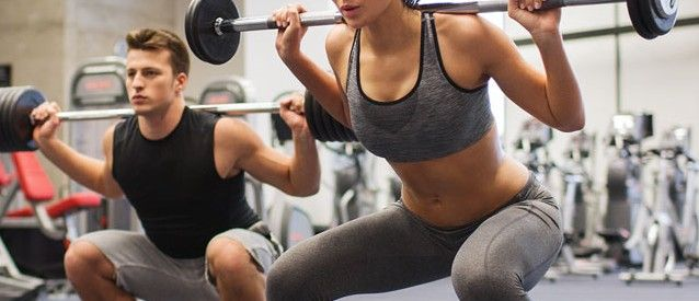 Las mujeres también pueden aumentar su masa muscular