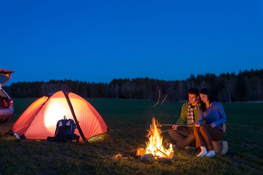 Por qué acampar