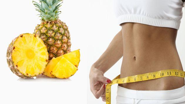 dieta de la piña para adelgazar