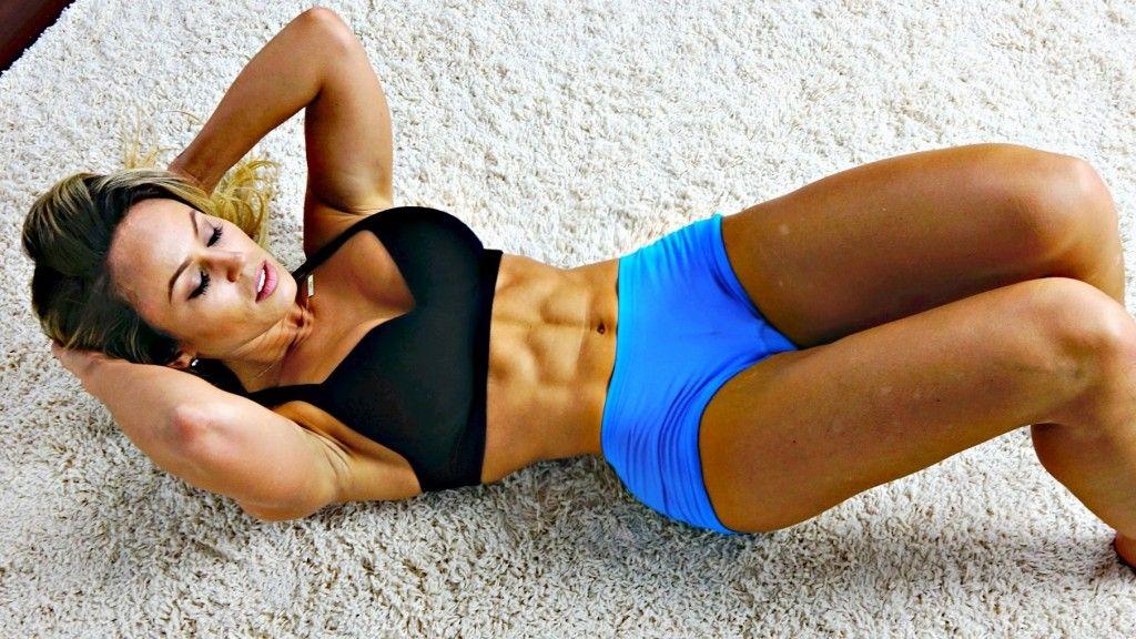 reto de abdominales en 30 dias