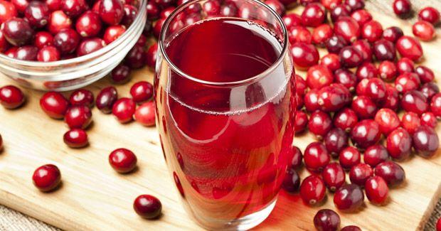 arandanos rojos jugo para desintoxicar el organismo