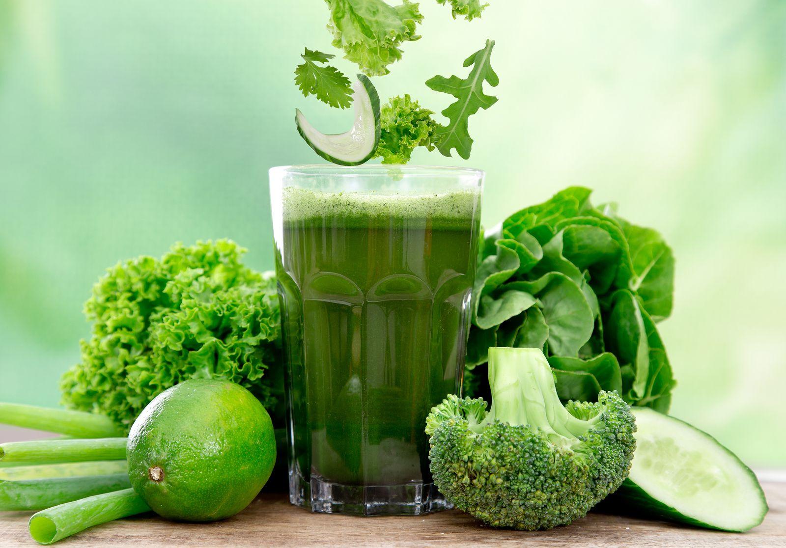 dieta verde nutritiva