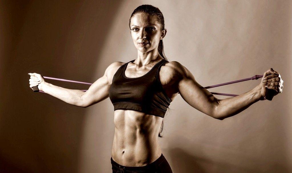 triceps bandas elasticas