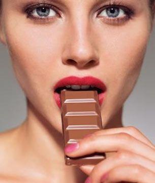 El maravilloso efecto que comer una barra de chocolate