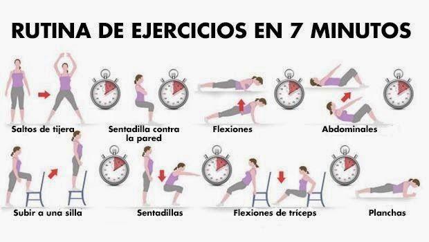 Como bajar de peso rutina de ejercicios