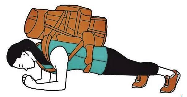 rutina en casa con solo una mochila